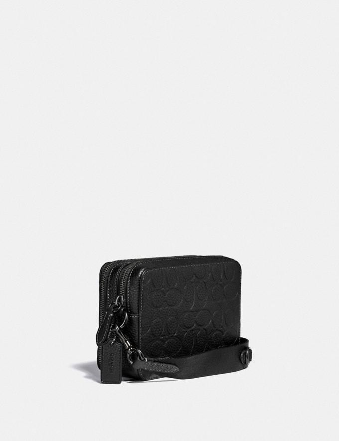 Coach Charter Crossbody in Signature Leather Black DEFAULT_CATEGORY Alternate View 1