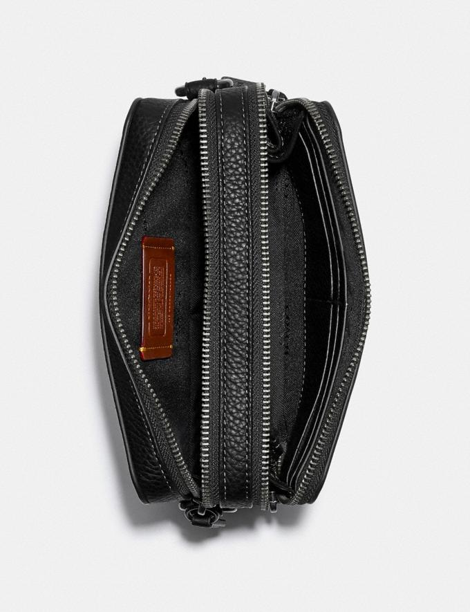 Coach Charter Crossbody in Signature Leather Black DEFAULT_CATEGORY Alternate View 2