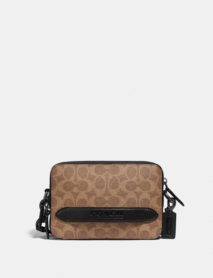 Coach Charter Crossbody in Signature Canvas Tan DEFAULT_CATEGORY