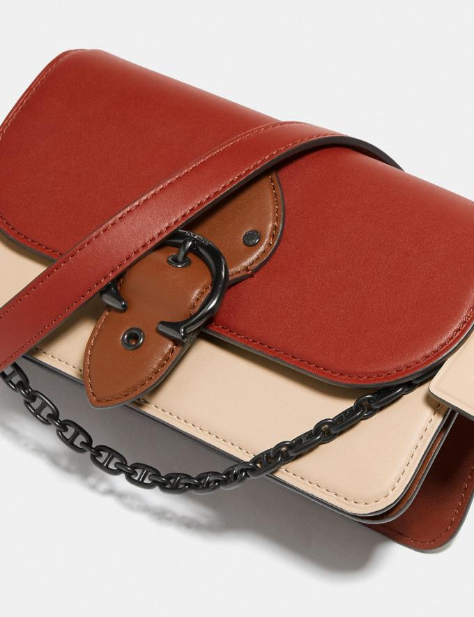Coach Beat Crossbody Clutch in Colorblock Pewter/Red Sand Ivory Multi  Alternate View 5