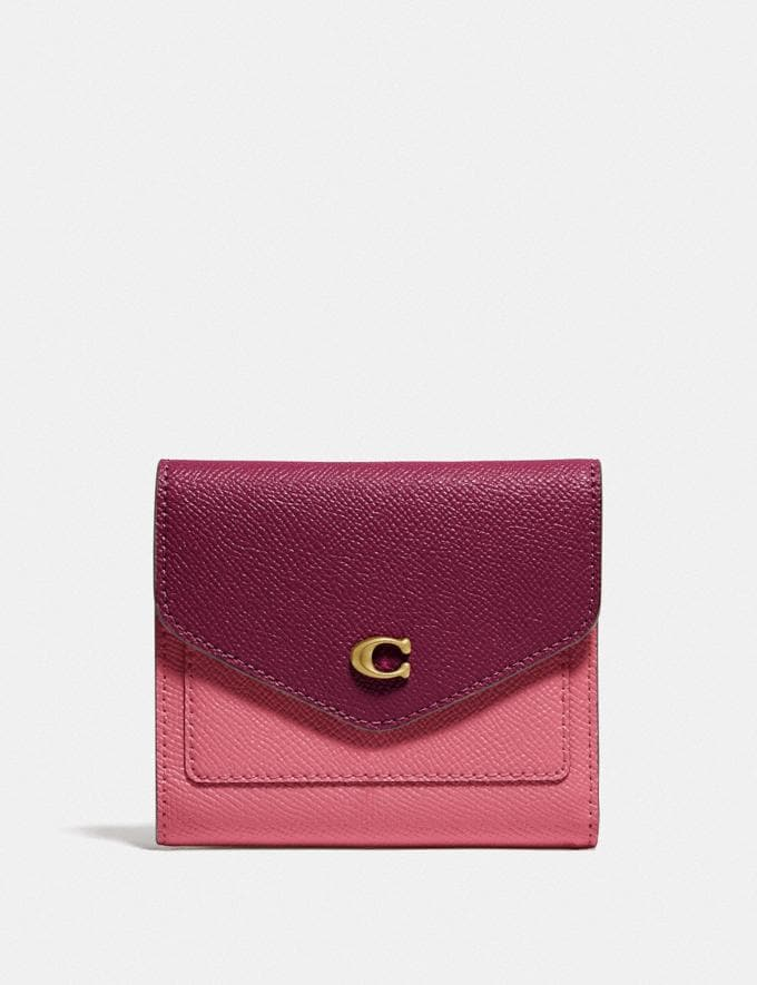 Coach Wyn Small Wallet in Colorblock B4/Rouge Multi null
