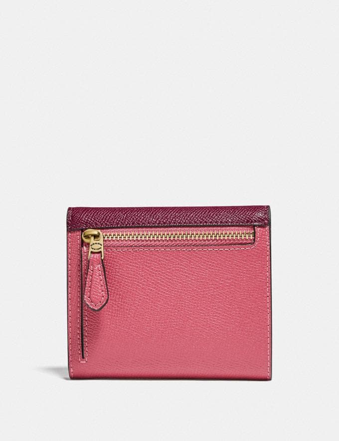Coach Wyn Small Wallet in Colorblock B4/Rouge Multi null Alternate View 1