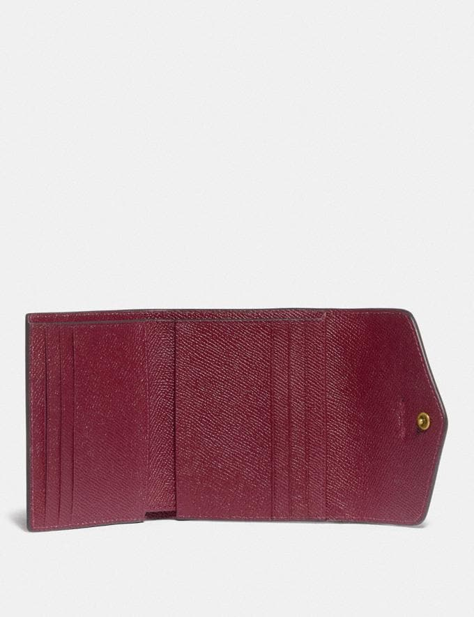 Coach Wyn Small Wallet in Colorblock B4/Rouge Multi null Alternate View 2