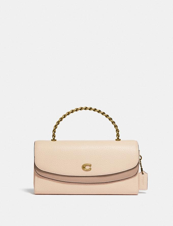 Coach Blair Clutch in Colorblock B4/Ivory Taupe Multi