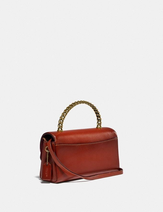 Coach Blair Clutch in Signature Canvas B4/Tan Rust Gifts For Her Under £500 Alternate View 1