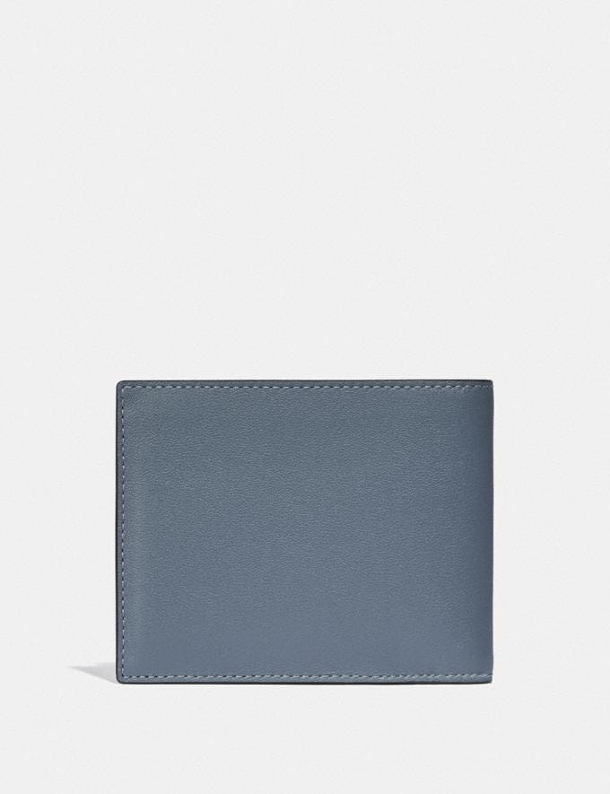 Coach 3-In-1 Wallet in Colorblock Blue Quartz/Midnight  Alternate View 1