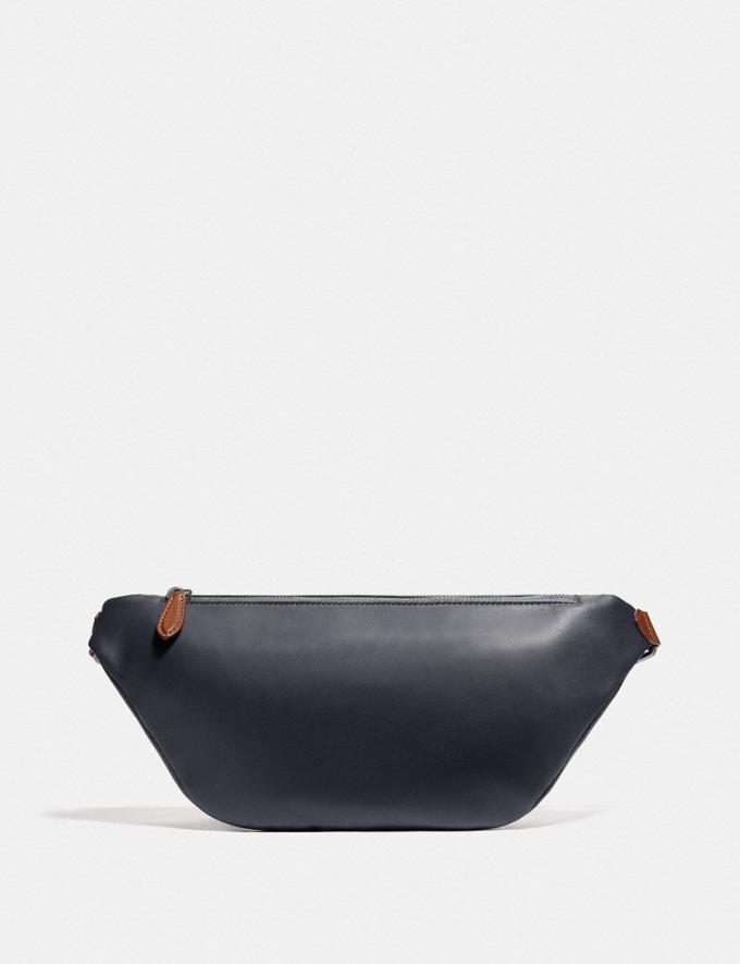 Coach League Belt Bag in Colorblock Black Copper/Blue Quartz Multi New Men's New Arrivals Bags Alternate View 2
