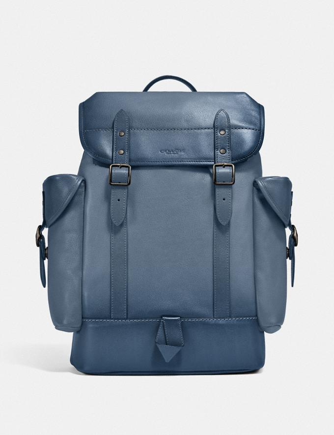 Coach Hitch Backpack Ji/Blue Quartz