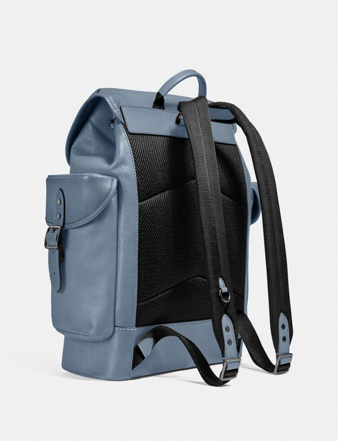 Coach Hitch Backpack Ji/Blue Quartz  Alternate View 1