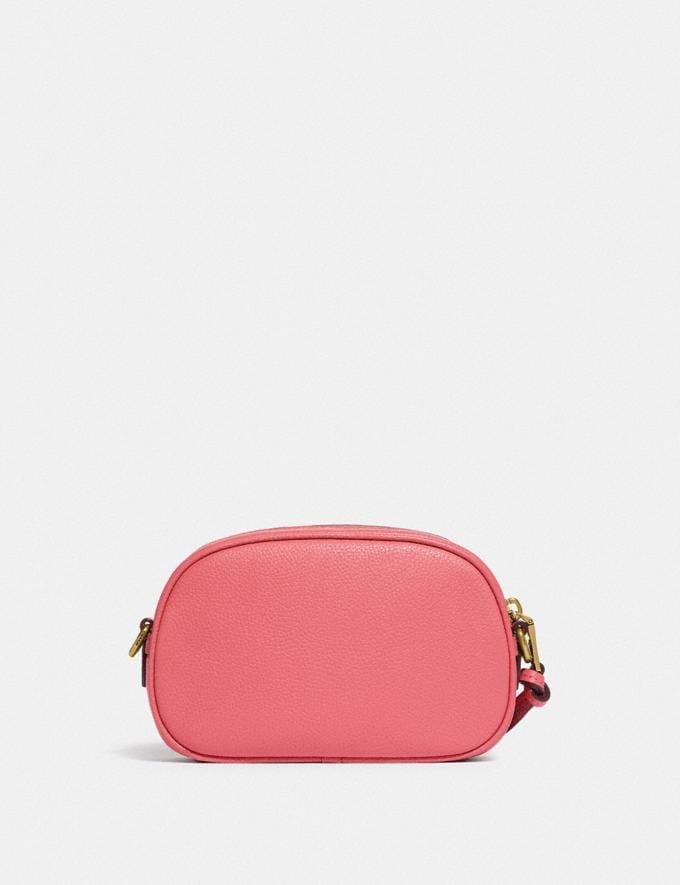 Coach Camera Crossbody With Coach Badge B4/Taffy SALE Shop by Price Under £150 Alternate View 2