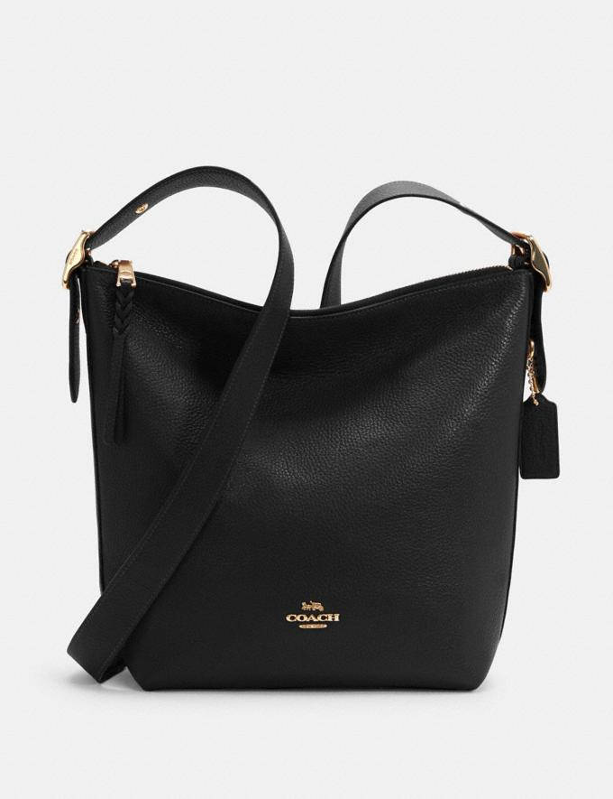 Coach Val Duffle Im/Black 9.3 Outlet sale and back in stock