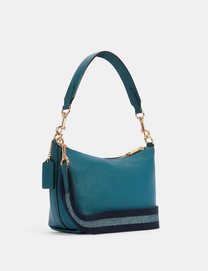 Coach Dempsey Shoulder Bag With Patch Im/Teal Ink DEFAULT_CATEGORY Alternate View 1