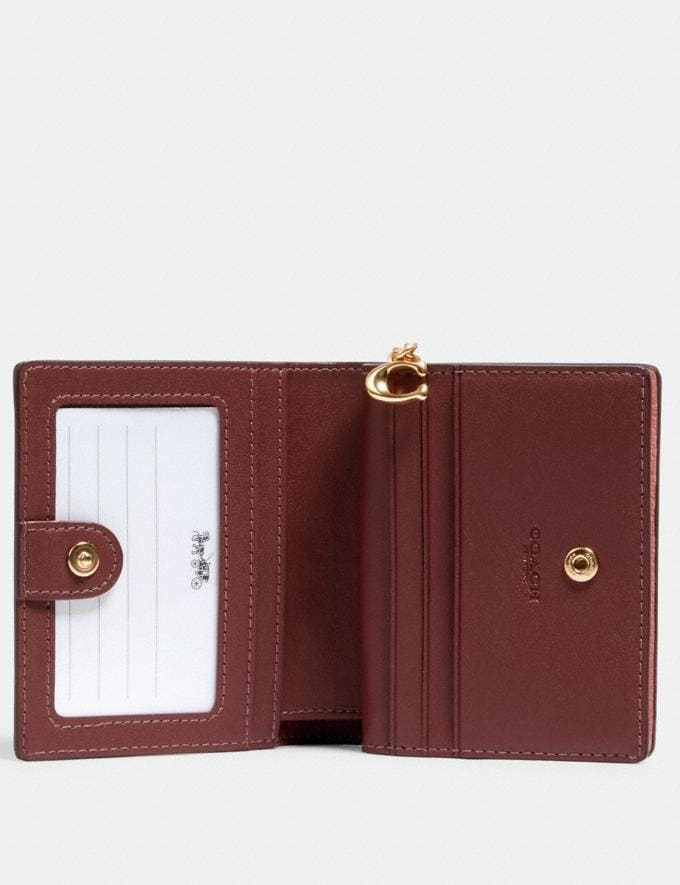 Coach Snap Wallet Im/Light Blush DEFAULT_CATEGORY Alternate View 1