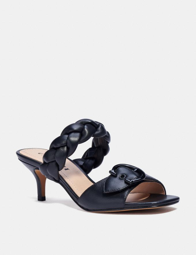 Coach Mollie Sandal Black