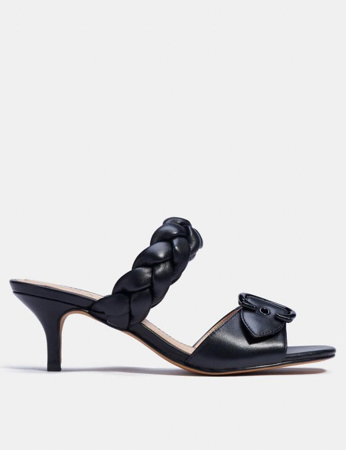 Coach Mollie Sandal Black  Alternate View 1