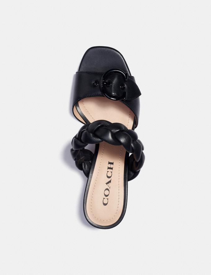Coach Mollie Sandal Black  Alternate View 2