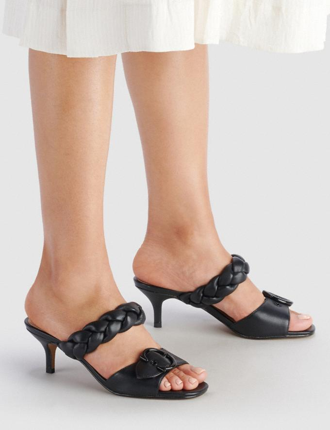 Coach Mollie Sandal Black  Alternate View 4