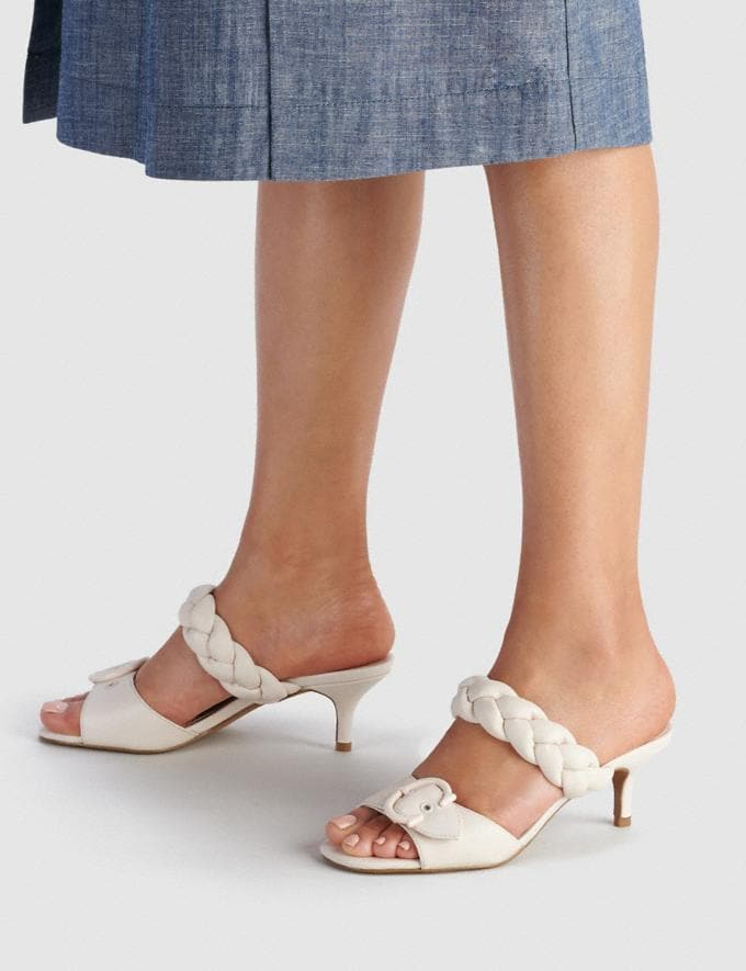 Coach Mollie Sandal Chalk  Alternate View 4