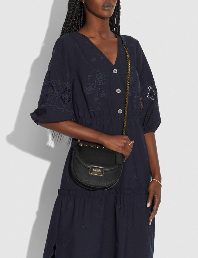 Coach Alie Saddle Bag B4/Black Translations 5.1 Retail Alternate View 3