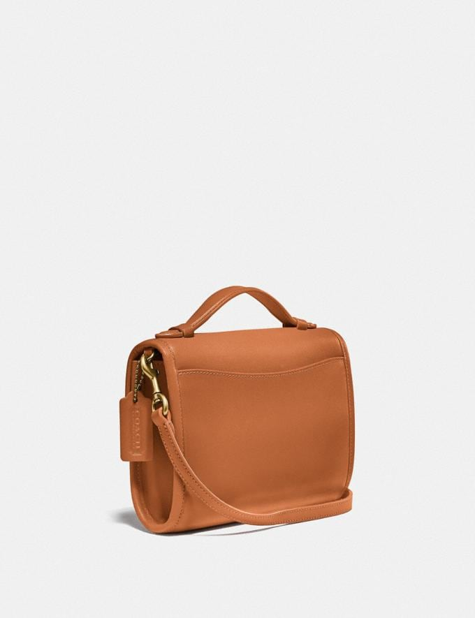 Coach Kip Turnlock Crossbody Brass/Natural New Women's New Arrivals Small Leather Goods Alternate View 1