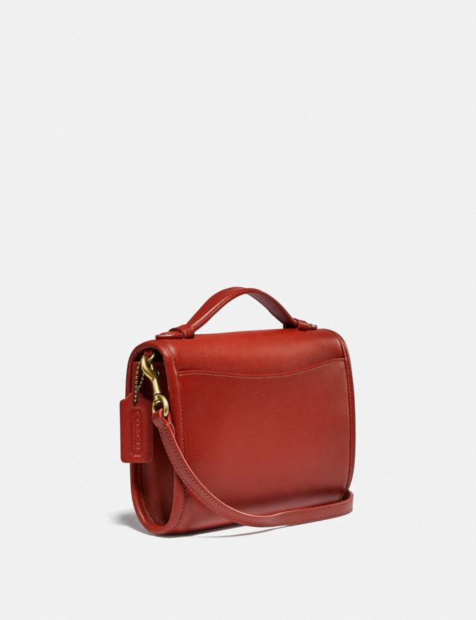 Coach Kip Turnlock Crossbody B4/Red Sand New Women's New Arrivals Small Leather Goods Alternate View 1