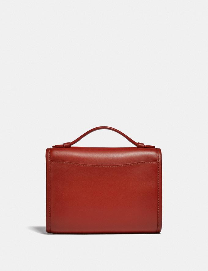 Coach Kip Turnlock Crossbody B4/Red Sand New Women's New Arrivals Small Leather Goods Alternate View 2