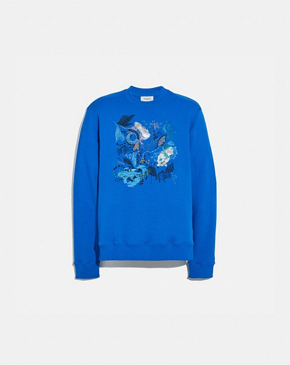 Coach A LOVE LETTER TO NEW YORK SWEATSHIRT