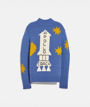 A LOVE LETTER TO NEW YORK SPACE SWEATER
