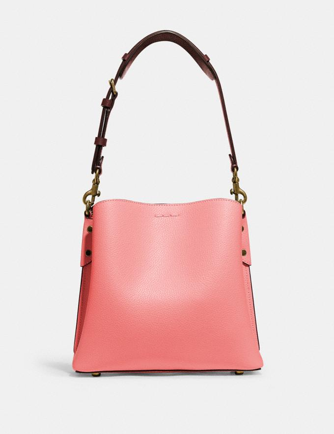 Coach Willow Bucket Bag in Colorblock B4/Candy Pink Multi DEFAULT_CATEGORY Alternate View 2