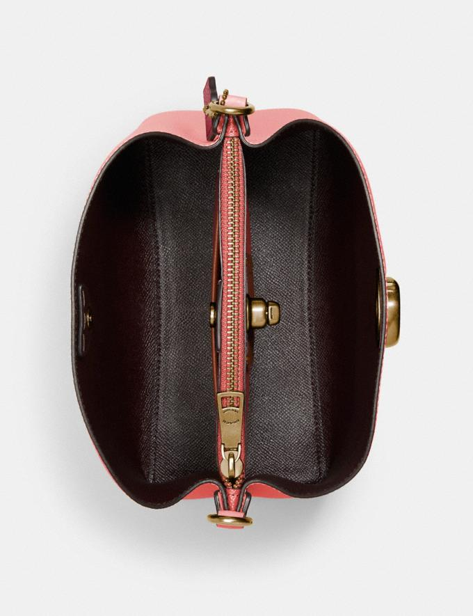 Coach Willow Bucket Bag in Colorblock B4/Candy Pink Multi DEFAULT_CATEGORY Alternate View 3