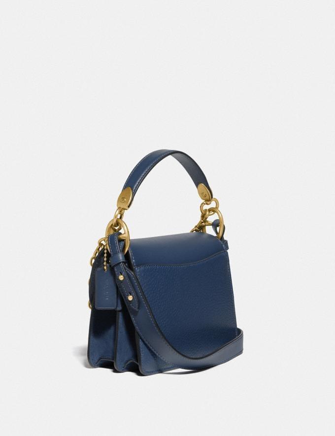 Coach Beat Shoulder Bag 18 Brass/Deep Blue New Women's New Arrivals Bags Alternate View 1