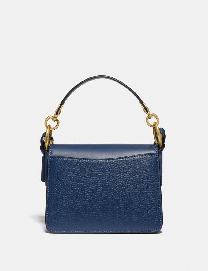 Coach Beat Shoulder Bag 18 Brass/Deep Blue null Alternate View 2
