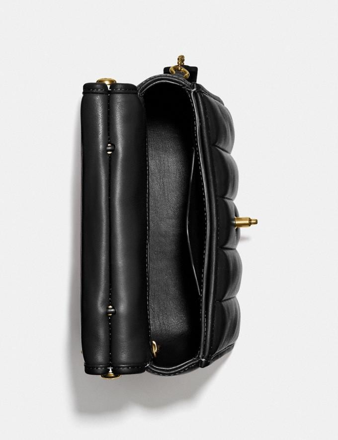 Coach Willis Top Handle 18 With Quilting Brass/Black New Women's New Arrivals Bags Alternate View 2