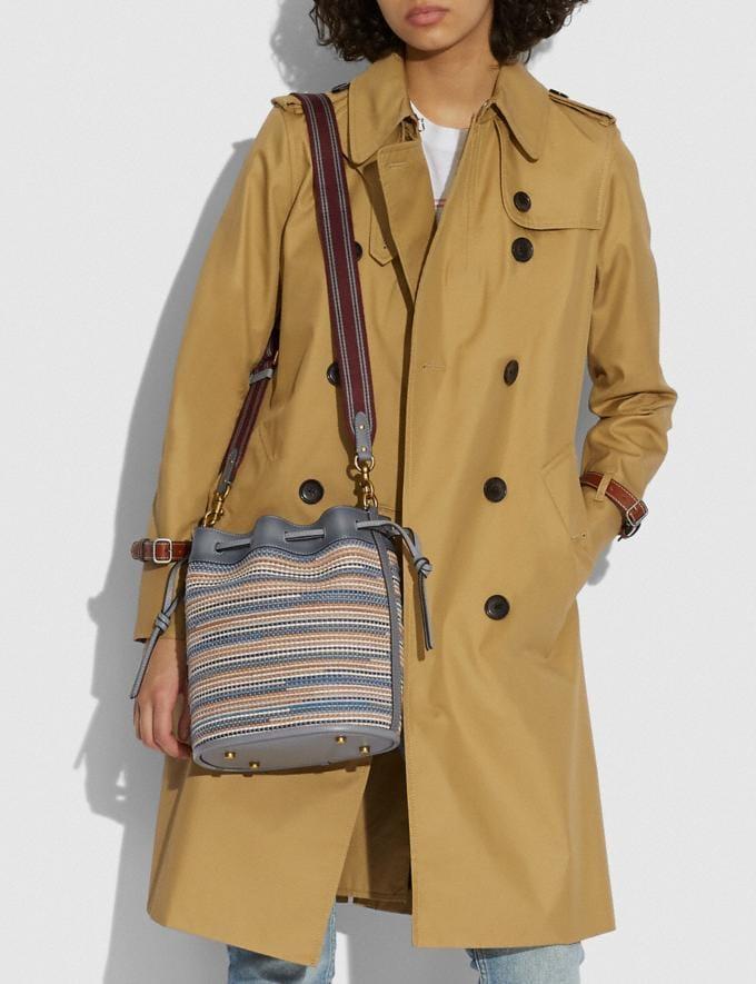 Coach Field Beuteltasche Aus Upwoven-Leder B4/Granit Multi Neu Neuheiten für Damen Taschen Alternative Ansicht 3