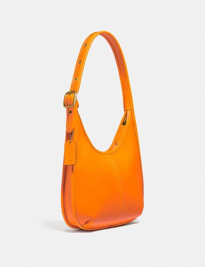 Coach Ergo Shoulder Bag in Original Natural Leather Brass/Carrot  Alternate View 1