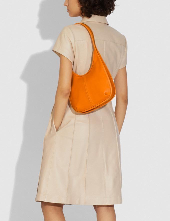 Coach Ergo Shoulder Bag in Original Natural Leather Brass/Carrot  Alternate View 3