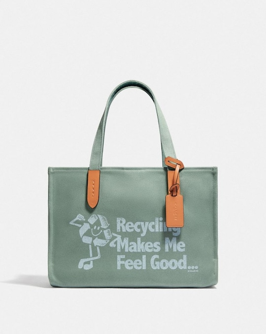 100 PERCENT RECYCLED TOTE 30