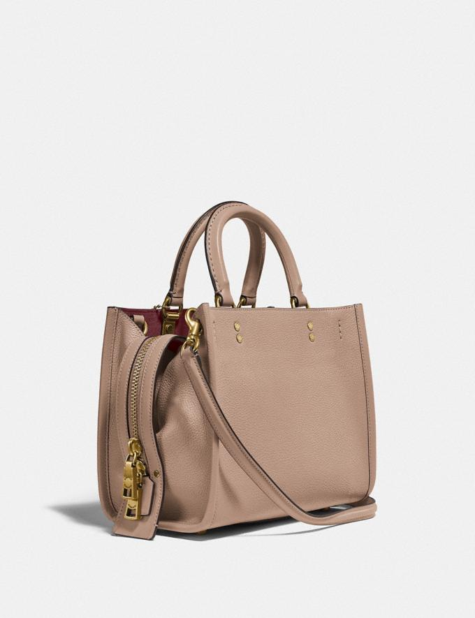 Coach Rogue 25 B4/Taupe Nuevo Destacado Recycled & Upcycled Vistas alternativas 1