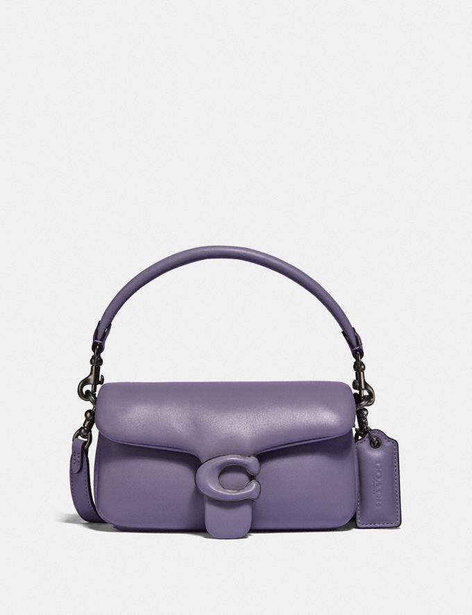 Coach Pillow Tabby Shoulder Bag 18 V5/Vintage Purple Translations 10.1 retail newness