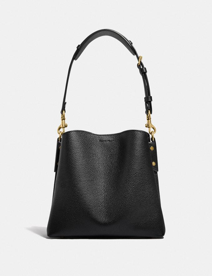 Coach Willow Bucket Bag Brass/Black New Women's New Arrivals Bags Alternate View 2