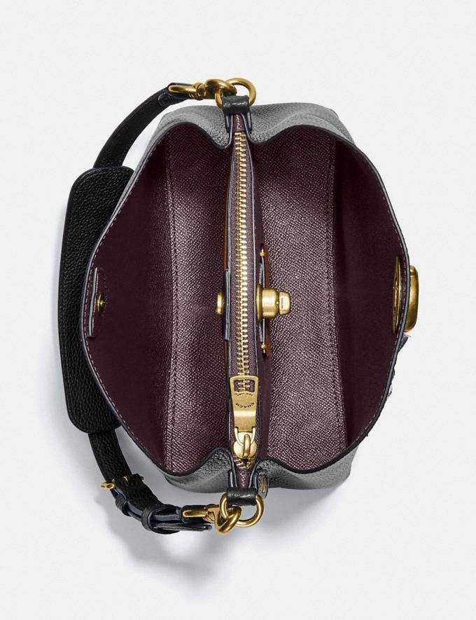 Coach Willow Bucket Bag Brass/Black New Women's New Arrivals Bags Alternate View 3