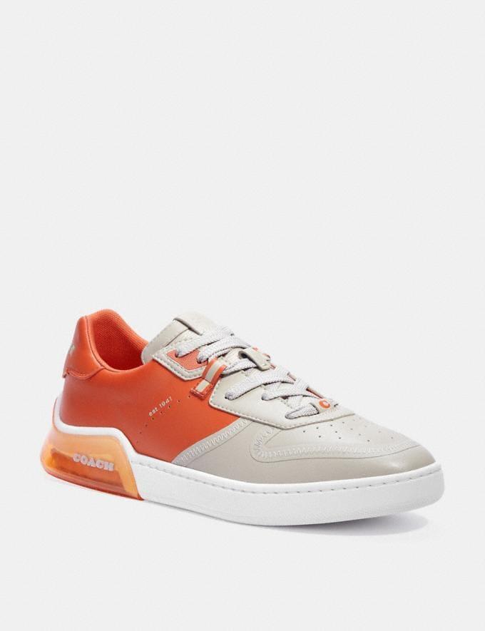 Coach Citysole Court Sneaker Bone Spice Orange Translations 6.1-Otheroutlet