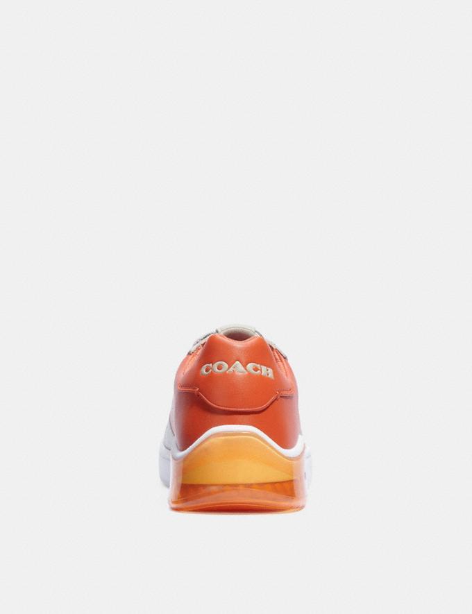 Coach Citysole Court Sneaker Bone Spice Orange Translations 6.1-Otheroutlet Alternate View 3