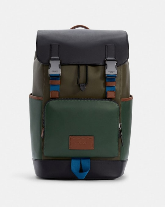 TRACK BACKPACK IN COLORBLOCK