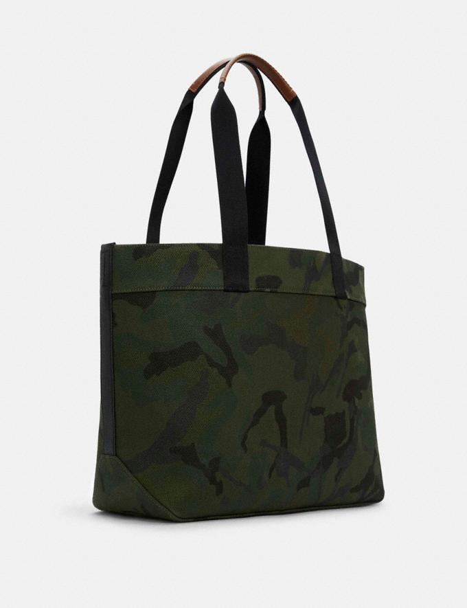 Coach Coach X Peanuts Tote With Woodstock Qb/Green Multi DEFAULT_CATEGORY Alternate View 1