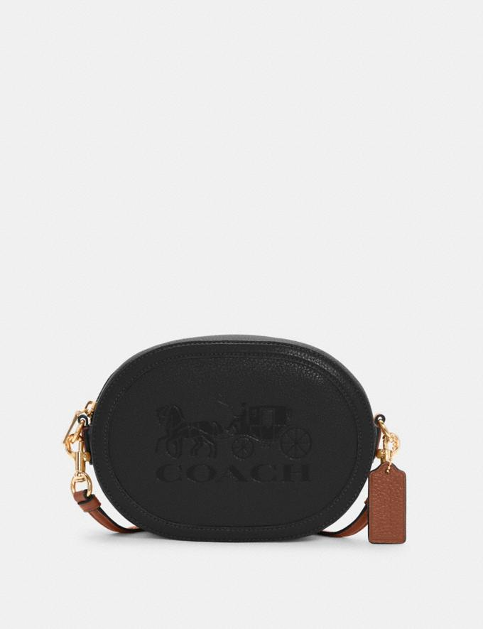 Coach Camera Bag With Horse and Carriage Im/Black/Redwood DEFAULT_CATEGORY