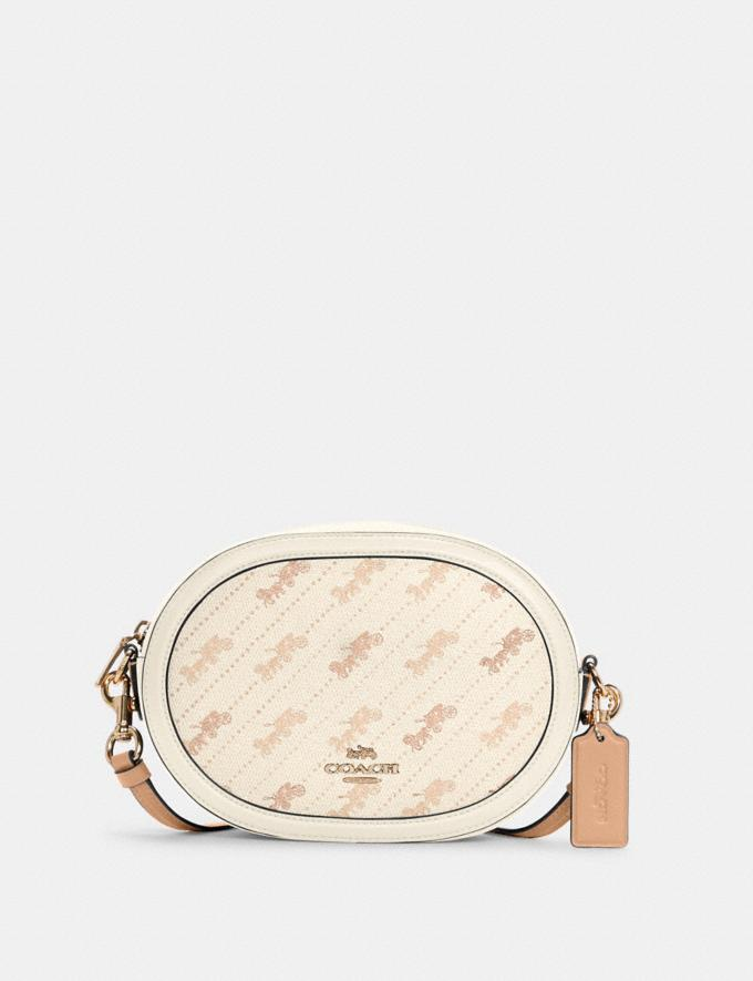 Coach Camera Bag With Horse and Carriage Dot Print Im/Cream DEFAULT_CATEGORY