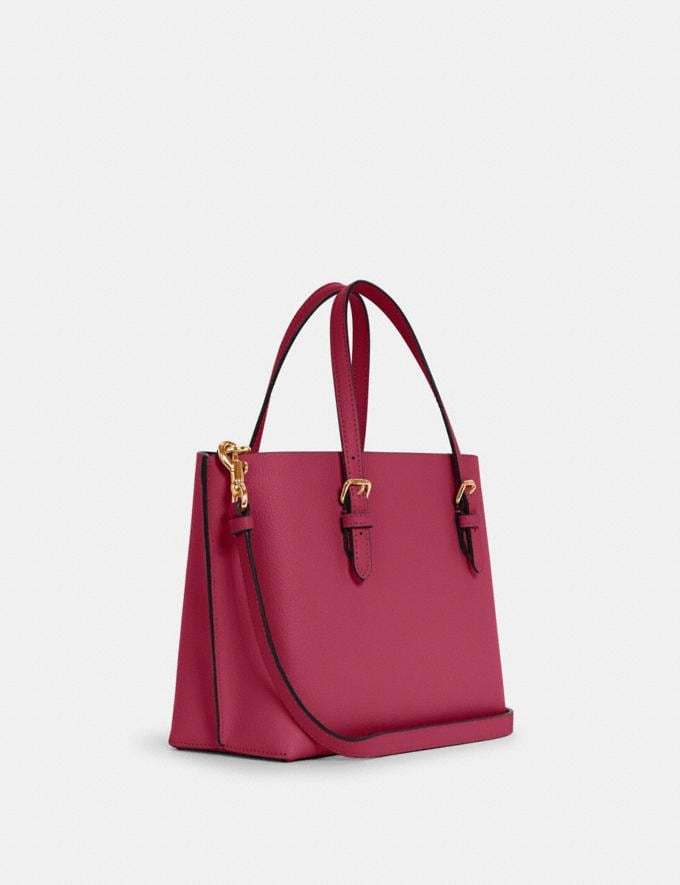 Coach Mollie Tote 25 Im/Bright Violet/Cherry Outlet Women's Bags Alternate View 1