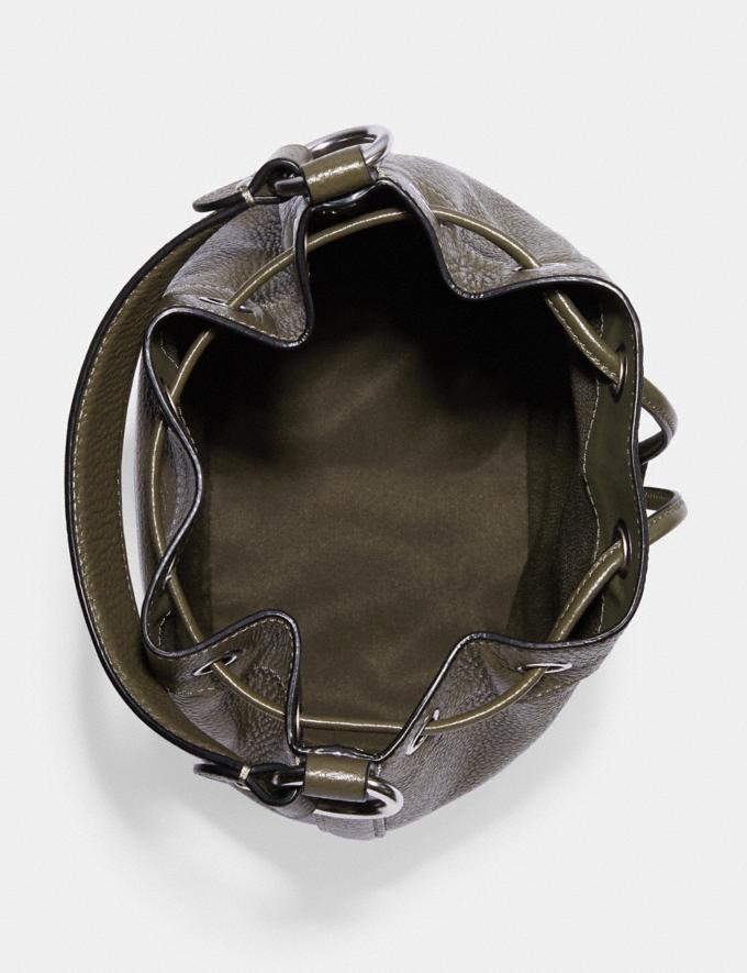 Coach Dempsey Drawstring Bucket Bag Sv/Surplus DEFAULT_CATEGORY Alternate View 2
