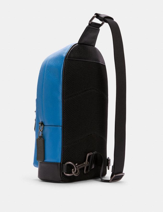 Coach Coach X Peanuts West Pack With Pig Pen Qb/Vivid Blue DEFAULT_CATEGORY Alternate View 1
